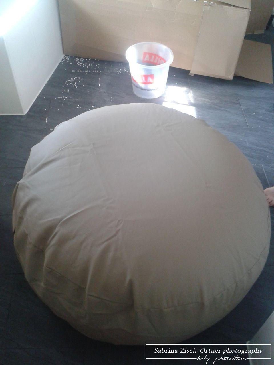 Fertig mit Styroporkügelchen befüllte Beanbag