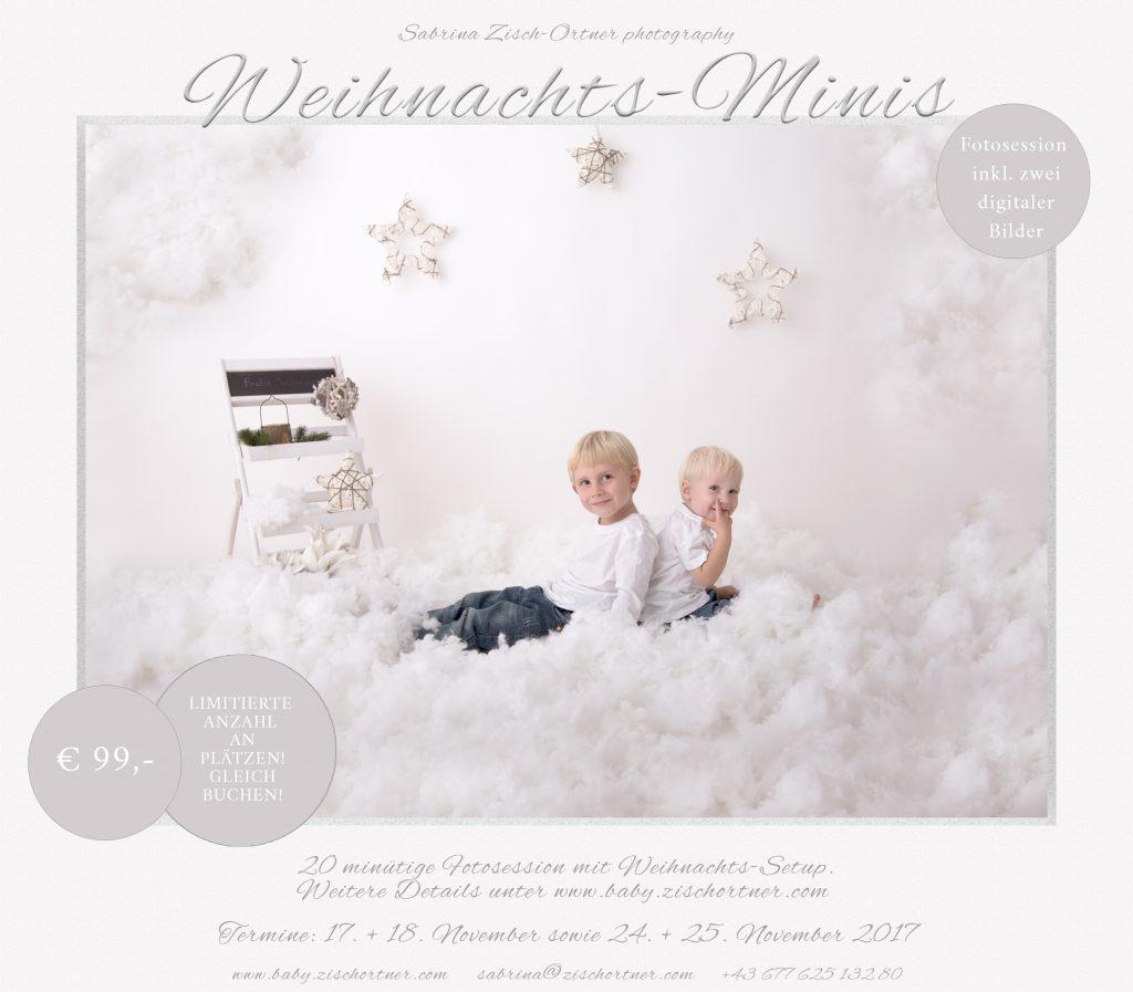 Weihnachtsbilder Klassisch.Weihnachtsbilder Aktion Neugeborenen Fotografin Sabrina Zisch Ortner