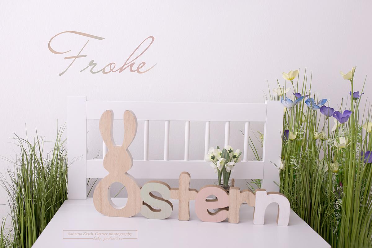 Die Neugeborenenfotografin Sabrina Zisch-Ortner wünscht Frohe Ostern 2018