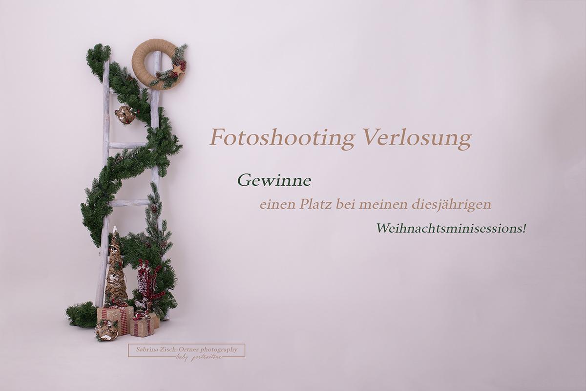 Gewinnspiel Verlosung eines Platzes bei den Weihnachtsminis 2018 von Sabrina Zisch-Ortner photography