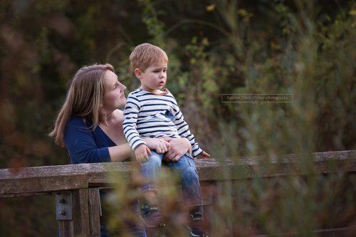 schöner Moment zwischen Mama und Sohn