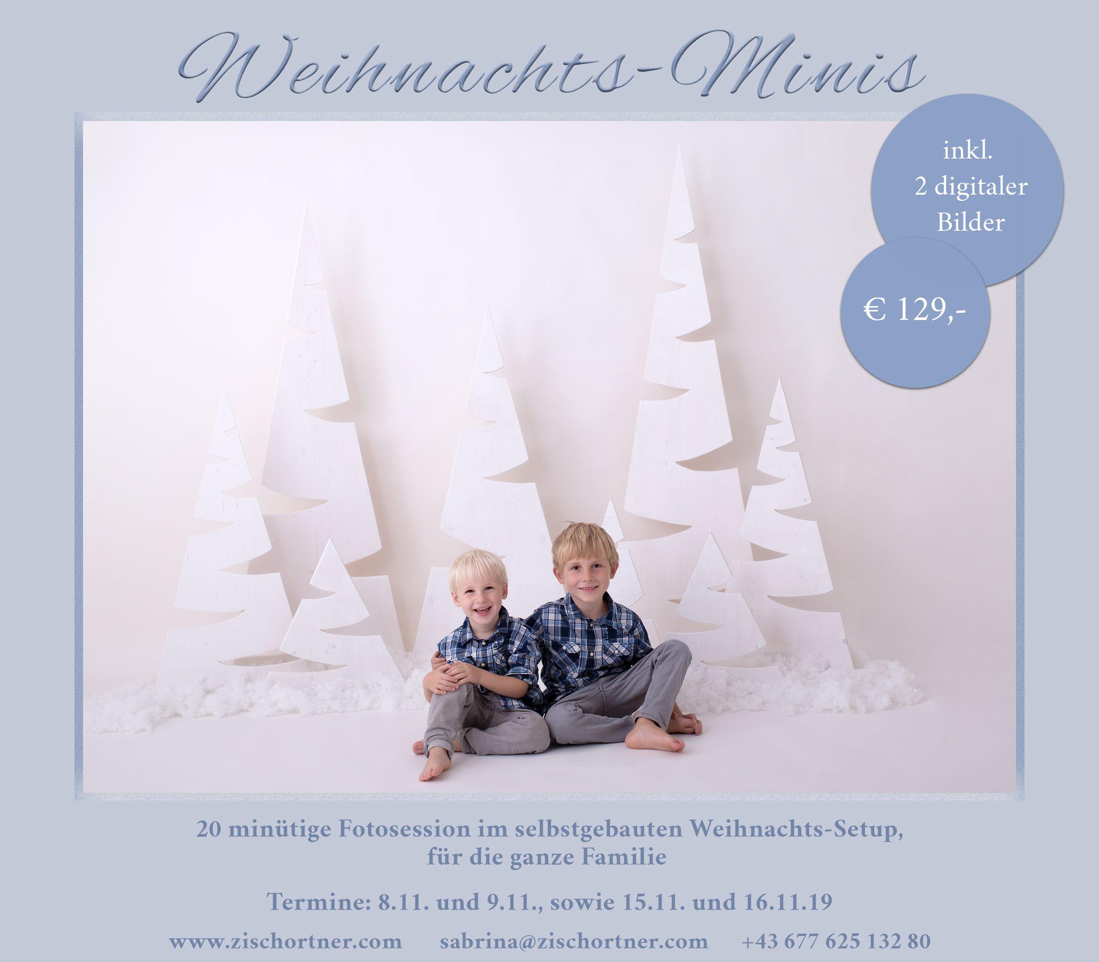 Weihnachts Minisession 2019 von Sabrina Zisch-Ortner aus 1220 Wien