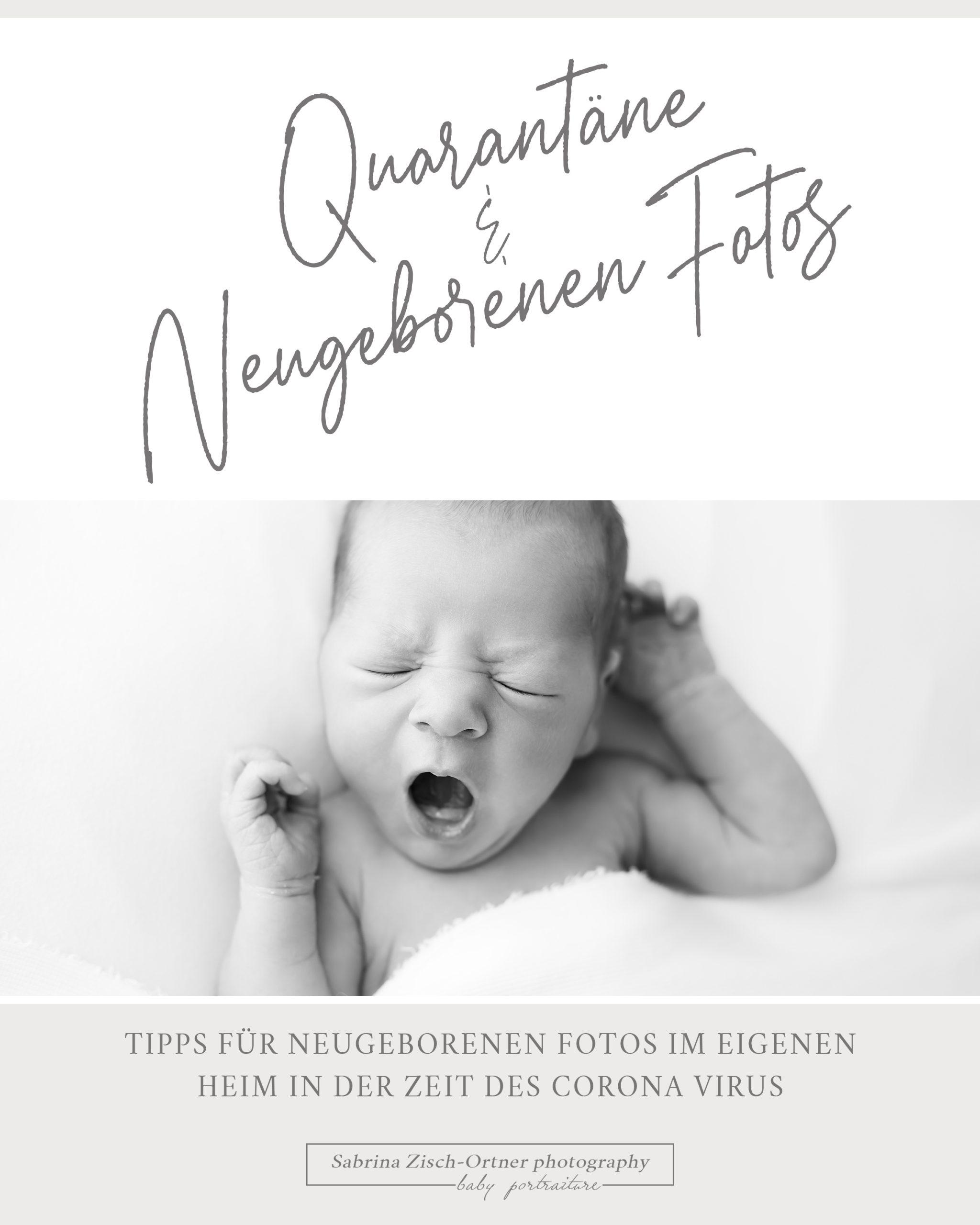 Quarantäne und Neugeborenen Fotos kostenloser Foto-Guide für frischgebackene Eltern