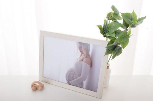 Exhibition weisser Bilderrahmen Produkt Angebot Wien Fotografin