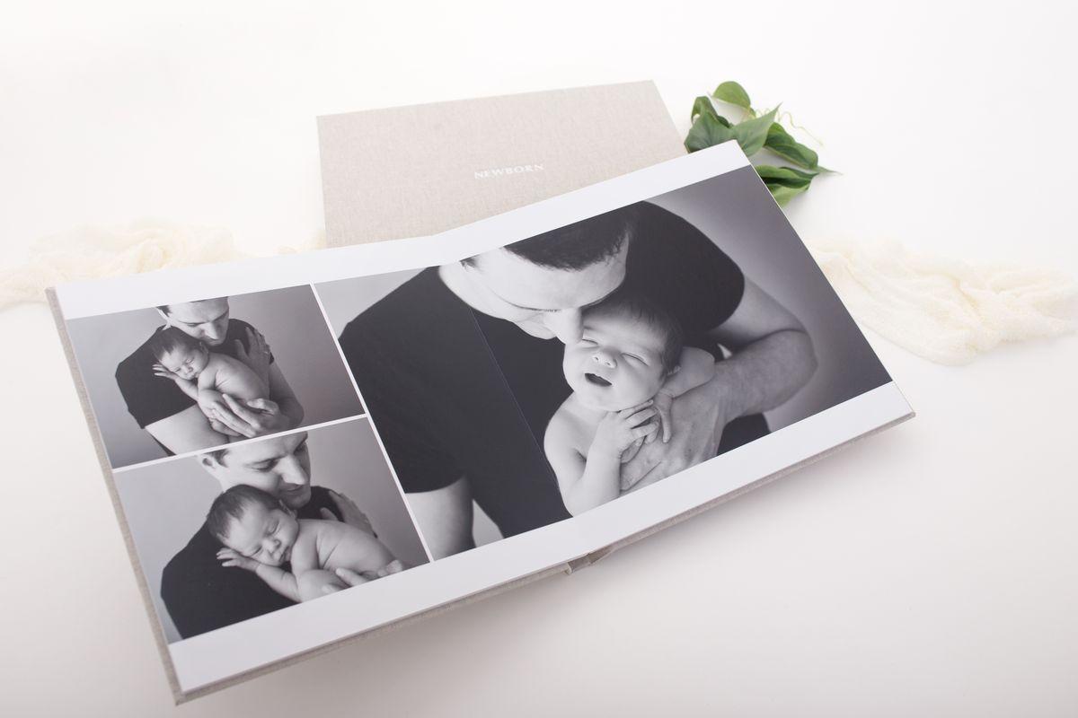 offene Seite Smaragd Fotoalbum