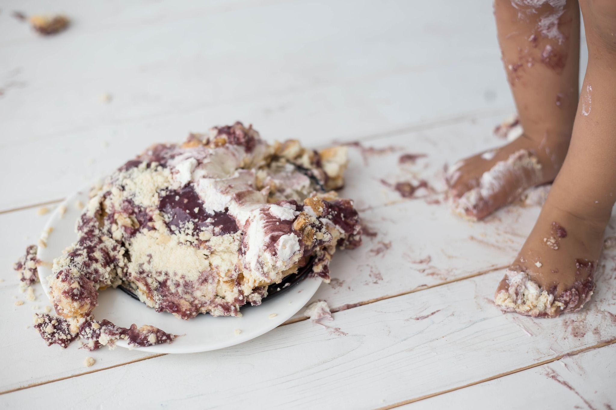 Cake Smash erster Geburtstag Fotoshooting
