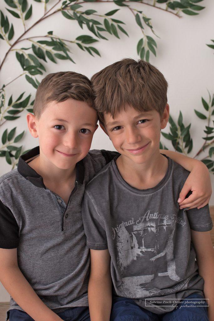 Geschwisterfoto eine wertvolle Erinnerung