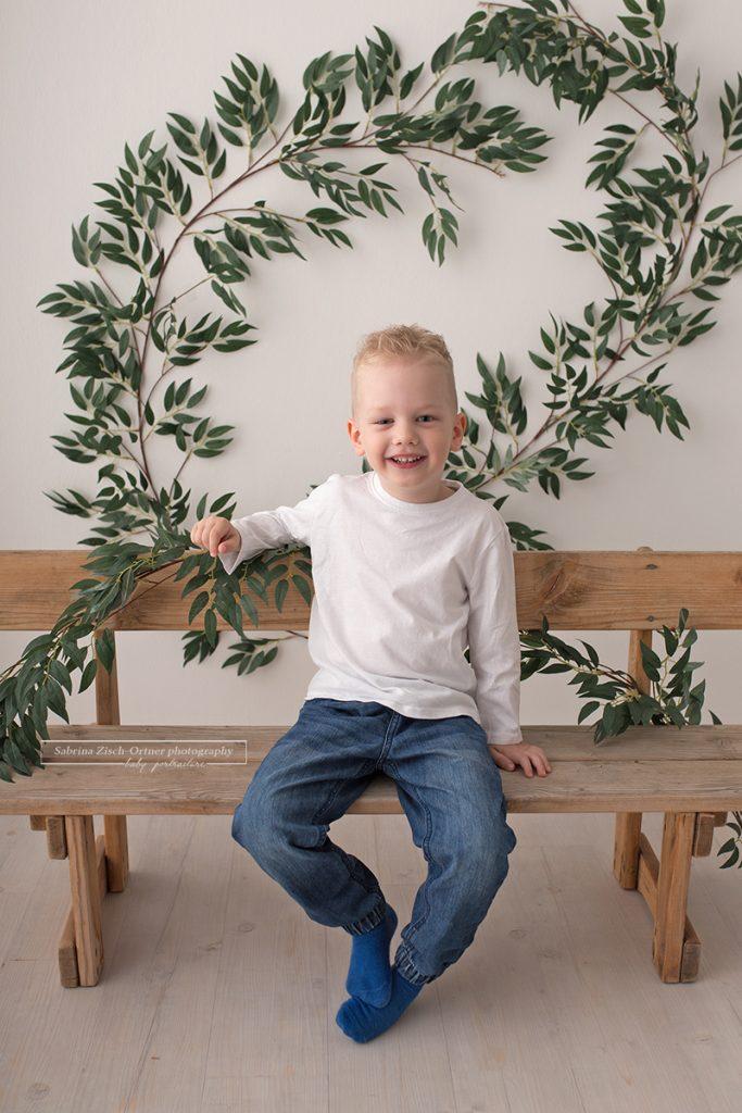 Minisession im Studio anstelle des Kindergartenfotografs im Kindergarten