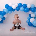 Tortenshooting, Cake Smash und Luftballongirlande