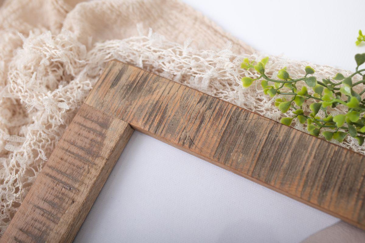 Bilderrahmen aus Holz aus recyceltem Holz