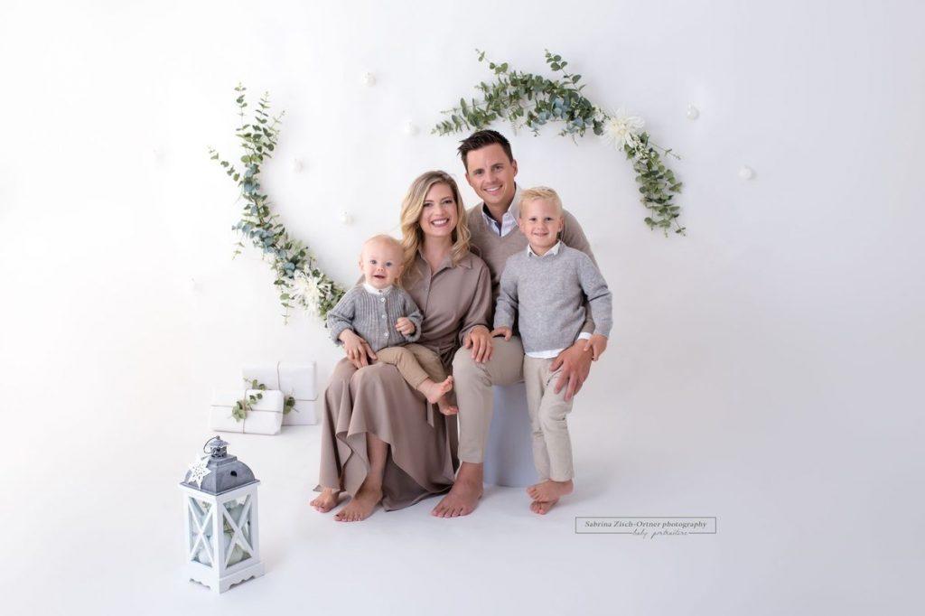 Familien Weihnachtsshooting bei Sabrina Zisch-Ortner photography