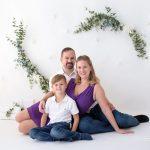 Familienweihnachtsfoto 2020