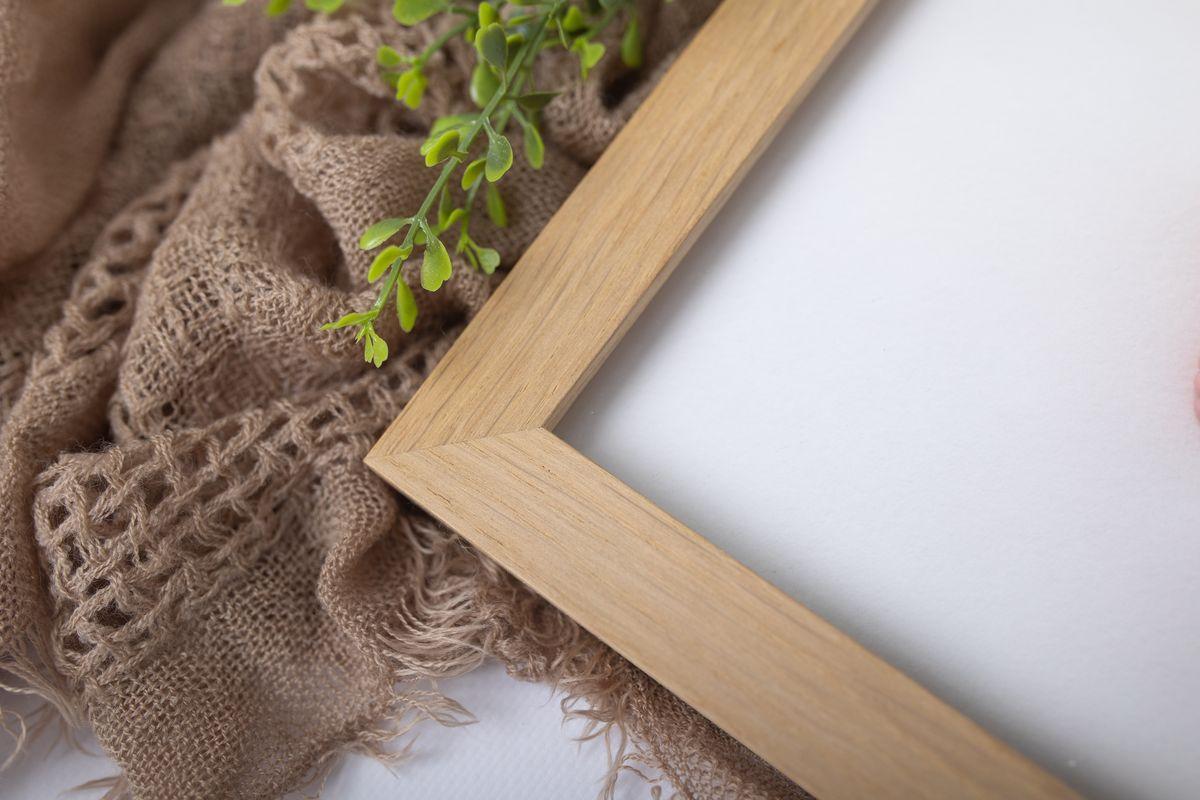 Holzbilderrahmen aus natur handgefertigt aus Oesterreich