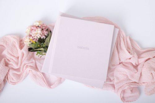 Rosa Rubin Album sowie die Aufbewahrungsbox sind in vielen weiteren Farben erhältlich