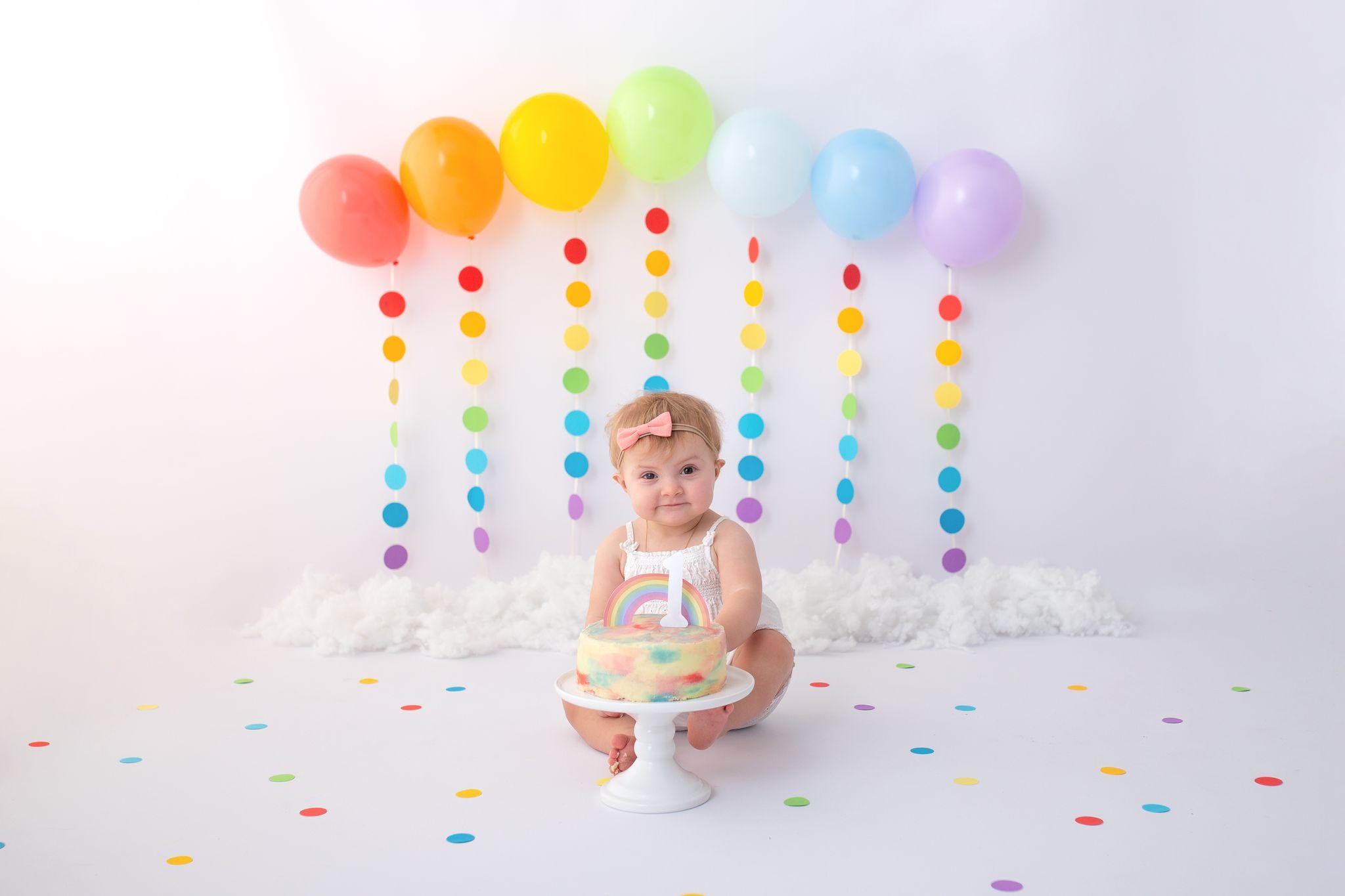 Gutschein Fotos Shooting Babybauch Neugeboren Geburtstag Cake Smash