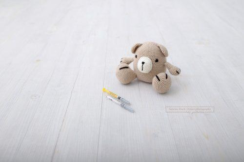 Teddybär bei Kinderwunsch und der Weg mittels IVF
